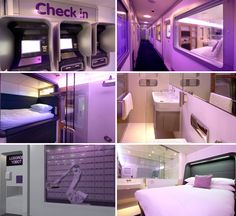 Yotel, Heathrow Airport. If you have more than four hours layover.
