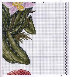 Bom Dia! Hoje é o primeiro dia da estação das flores, a Primavera.  Por isso trouxe para vocês alguns gráficos com estas belíssimas e colori...