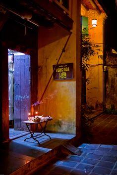 Night offerings - Hoi An, Vietnam