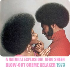 Jheri curl, conk to Afro and dreadlocks, a Black hair history timeline of some of the major events in Black hair care. Jheri Curl, Pelo Afro, Celebrities Hairstyles, Afro Hairstyles, Black Hairstyles, Volume Hairstyles, Black Hair History, Big Afro, Couple Photography
