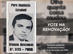 Vote na renovação! #Santinho1982