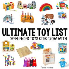 The Ultimate Toy List