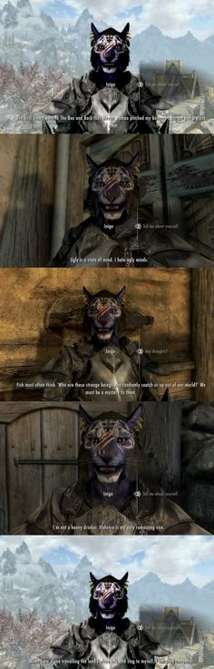 Inigo, the best follower in Skyrim. (Part 7)