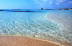 Torre Lapillo Bay, Porto Cesareo, Puglia, Italy - Alamy