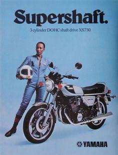1977 Yamaha XS750 advert
