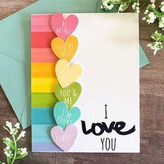 75 Handmade Valentine's Day Card Ideas for Him That Are Sweet & Romantic – Hike n Dip - Geschenke Ideen Creative Birthday Cards, Homemade Birthday Cards, Creative Cards, Homemade Cards, Homemade Valentine Cards, Diy Valentine, Birthday Crafts, Birthday Card Drawing, Karten Diy