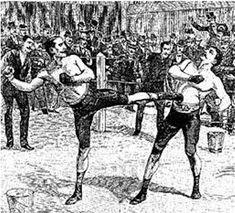 RSC CHAMPIGNY - Informations (sallle, savate ..) - Histoire de la Boxe Française