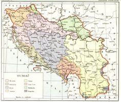 Karte potječu iz Stjepan Srkulj, Hrvatska povijest u devetnaest karata, Zagreb 1937.