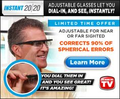 Instant 20 20 DIal In Glasses #instant_20_20_dial_galsess #instant_20-20 #dial_in_glasses #eyeglasses