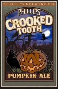 Crooked Tooth Pumpkin Ale is a Pumpkin Ale style beer brewed by Phillips Brewing Company in Victoria, BC, Canada
