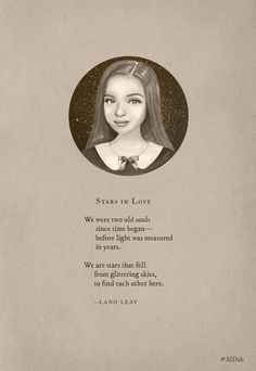 Poem by Lang Leav which she wrote for Maine and Alden #ALDUB