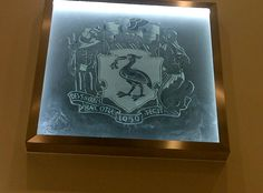 The Liverpool crest in the newly refurbished Liverpool Central Library