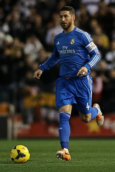 Sergio Ramos - Valencia CF v Real Madrid CF