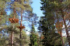 Arctic Adventure Park Huima - right at the Arctic Circle is located next to Santasport in Rovaniemi, Finland.