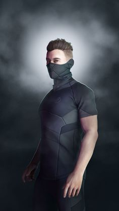 Cyberpunk Mode, Cyberpunk Clothes, Cyberpunk Fashion, Super Hero Outfits, Cool Outfits, Concept Clothing, Tactical Wear, Superhero Design, Future Clothes