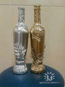 Enorme colección de ideas para la decoración de botellas! -1