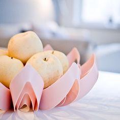 Petals decorative fruit bowl - Dusty Pink  www.beandliv.com Instagram photo by @purodeco_