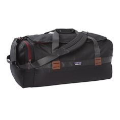 The classic weekender duffel bag, the Arbor Duffel 60L has a utilitarian design that hauls your gear in style and comfort. Check it out at Patagonia.com.