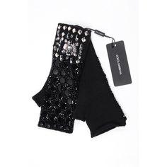 Dolce & Gabbana ladies fingerless jewel glove FIG34K F49CR S8434