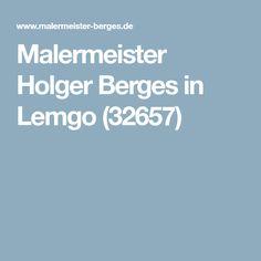 Malermeister Holger Berges in Lemgo (32657)