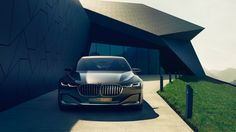 In a stunning new concept, BMW has laid the groundwork for its next generation of luxury-class vehicles. The new BMW Vision Future Luxury Concept, a name Lamborghini, Ferrari, Maserati, Bugatti, Rolls Royce, Bmw Concept, Wallpaper Schwarz, Nova Bmw, Dream Cars