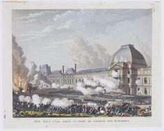 ⌛️Le 10 août 1792, à Paris, des sans-culottes s'emparent du palais des Tuileries. Au terme d'une journée sanglante, le roi Louis XVI et sa famille sont jetés en prison.  C'est la fin de la monarchie française, vieille de près d'un millénaire, et la naissance d'un régime républicain qui ne dit pas encore son nom.