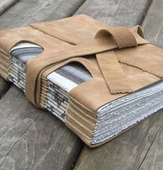 Beige Leather Journal   Flickr - Photo Sharing! Amazing!