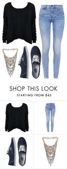 """""""Untitled #655"""" by bianca13-i ❤ liked on Polyvore featuring moda, Alice + Olivia, G-Star, Vans ve Tom Binns"""