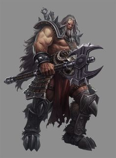 Phroilan Gardner Concept Art and Illustration - Diablo III Fantasy Armor, Medieval Fantasy, Game Character, Character Concept, Character Ideas, Tribal Warrior, Concept Art World, Fantasy Inspiration, Fantasy Characters