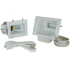 Flat Panel TV Cable Power Organizer/Power Kit