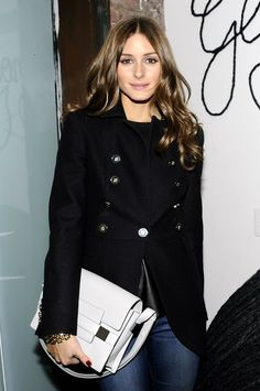 THE OLIVIA PALERMO LOOKBOOK: Olivia Palermo At The Glamour Cat Fashion Concept Store Beauty Party