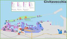 Rostock port map Maps Pinterest Rostock and City