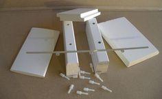DIY shutter components,shutter components millwork,plantation shutter parts,shutter materials,plantation shutters,basswood