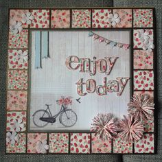 Picture designed by Julie Hickey using Al Fresco Paper pad.