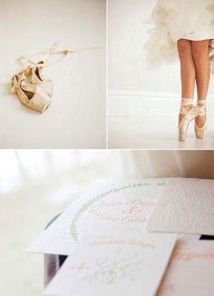 ballerina bride.