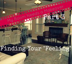 Shhh…listen…can you hear it?  That's your house speaking to you. room makeover part 3