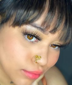 Silver Body Jewellery, Nose Jewelry, Jewlery, Fake Piercing, Tragus Piercings, Heart Nose Rings, Faux Nose Ring, Stylish Jewelry, Schmuck