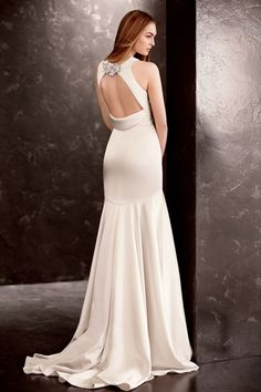 White by Vera Wang, Exclusively at David's Bridal: Style VW351186