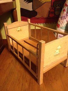 1950s Doll Cribs