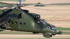 Amazing Mil Mi-24 Hind gunship air-to-air photoshoot