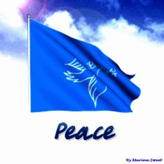 Flag of The Peace ✔ animated gift