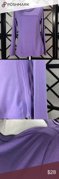 "Lauren Ralph Lauren Purple Boatneck Top New Lilac purple soft top! Bust approximately 36"" length approximately 25"". Lauren Ralph Lauren Tops"