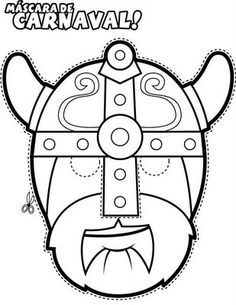 greek masks coloring 3 231x300 Greek Masks, Printables and