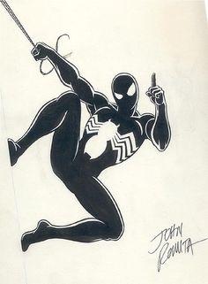 Romita Sr Spider-Man Black  Comic Art