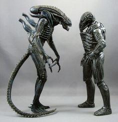 Xenomorph vs Engineer   #Alien #Prometheus