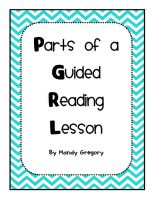 Great blog by Mandy Gregory and lots of help with guided reading