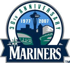 Seattle Mariners Anniversary Logo (2007) - 30th Anniversary of the Seattle Mariners