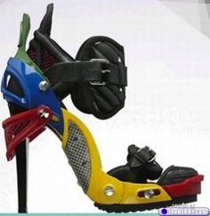 funky shoes...