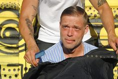 "Why This Man Spent A Year Giving The Homeless Haircuts In NYC #refinery29  http://www.refinery29.com/2014/08/73172/homeless-haircuts-mark-bustos#slide11  And, it's worked out pretty well. He says, ""I've been getting such good feedback, I would love to turn this into something more. A non-profit, maybe. And, I would love to inspire other hair stylists. There are so many hair stylists in this world. Imagine if every one of them did one haircut on the streets — how many smiles we would put on…"