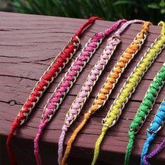 awesome DIY Bijoux - DIY: Chain Friendship Bracelets